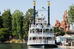 Mark Twain em Disneylândia Fotografia de Stock Royalty Free