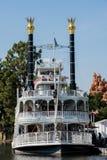 Mark Twain em Disneylândia Fotos de Stock Royalty Free