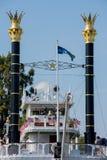 Mark Twain em Disneylândia Imagens de Stock Royalty Free