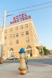 Mark Twain Hotel que construye a Hannibal Missouri los E.E.U.U. fotos de archivo