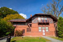 Mark Twain House e o museu Foto de Stock Royalty Free