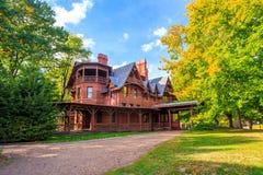 Mark Twain House e o museu Imagem de Stock