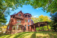 Mark Twain House ed il museo Immagini Stock Libere da Diritti