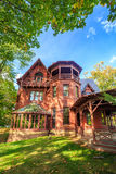 Mark Twain House ed il museo Fotografie Stock Libere da Diritti