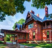 Mark Twain House Royalty Free Stock Image