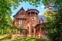 The Mark Twain House and Museum Stock Images