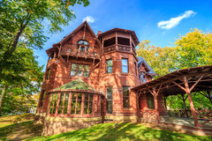 The Mark Twain House and Museum Royalty Free Stock Images