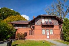Mark Twain House y el museo Foto de archivo libre de regalías