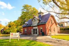 Mark Twain House y el museo Imágenes de archivo libres de regalías