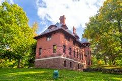 Mark Twain House y el museo Imagenes de archivo