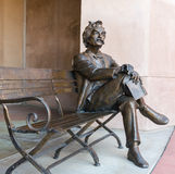 Mark Twain in Palm Desert Stock Image
