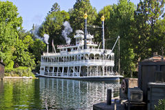 Mark Twain, rios de América, Disneylâandia Fotos de Stock