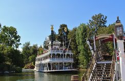 Mark Twain Riverboat, Disneyland Royalty Free Stock Photography