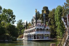 Mark Twain Riverboat, Disneyland Stock Photo
