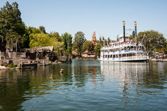 Mark Twain Riverboat at Disneyland, California Stock Images