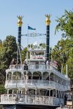 Mark Twain Riverboat-Fahrt bei Disneyland Stockfotos