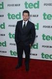 Mark Wahlberg chega no   foto de stock royalty free