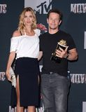 Mark Wahlberg et Rhea Durham Photos libres de droits
