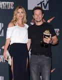Mark Wahlberg och Rhea Durham Royaltyfri Bild