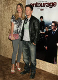 Mark Wahlberg,Rhea Durham Royalty Free Stock Photos