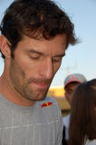 Mark Webber. F1 driver Mark Webber met his fans and gave autographs on August 1, 2010 in Budapest, Hungary Stock Photography