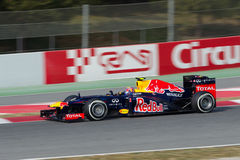 Mark Webber (AUS) Red Bull Racing RB8 Stock Photography