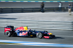 Mark Webber F1 Test Jerez 2012 Stock Images