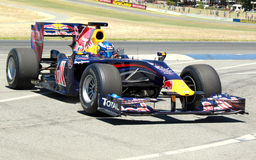 Mark Webber at the Perth Festival of Speed royalty free stock images