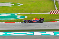 Mark Webber (team Red Bull) Royalty Free Stock Photography