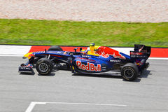 Mark Webber (team Red Bull Racing) Royalty Free Stock Images