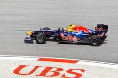 Mark Webber (team Red Bull Racing) Stock Image