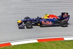 Mark Webber (team Red Bull Racing) Stock Photo