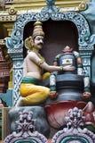 Markandeya Lord Shiva d'abbraccio Immagine Stock Libera da Diritti