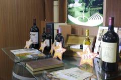 Markdowns do vinho fotos de stock