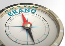 Marke als Konzeptwort Lizenzfreies Stockbild