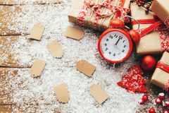 Marke des neuen Jahres 2013 auf einem weißen Hintergrund Stockfoto