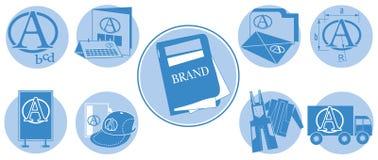 Marke-Ikone Stockbild