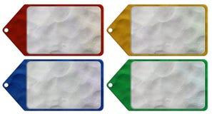 Marke Plasticine Stockfoto