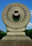 Marke Thammachak Garten Buddha Monthon Stockfotos