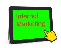 markeing Internet Lizenzfreie Stockfotos