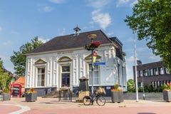 MARKELO NEDERLÄNDERNA - JUNI 3, 2016: Beaufort hus i Markelo royaltyfri foto
