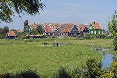 Marken,荷兰 图库摄影
