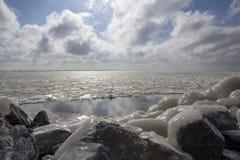 Marken в зиме Стоковая Фотография