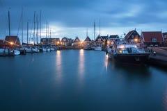 Marken на сумраке в Голландии Стоковые Изображения