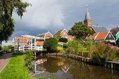 荷兰marken 图库摄影