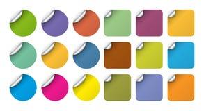 Marken-Aufkleber Stockbilder