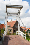 Marken bridge - Holland Royalty Free Stock Photo