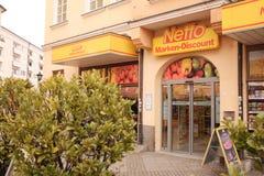 Marken-disconto de Netto Fotografia de Stock