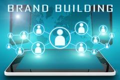Marken-Gebäude Lizenzfreie Stockfotos