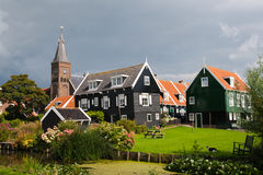 Marken - Holland. Touristic town of Marken, Holland stock image